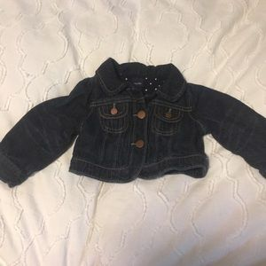 Baby gap denim jacket size 6-12 months